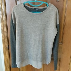 The Limited tan sweater